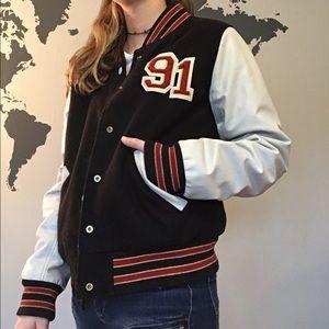 Letter man jacket ❤️